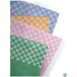 Serviette de table petits damiers poly/coton 50/50 180 gr/m²