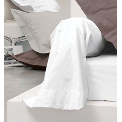 Protège traversin molleton/PVC 235 gr/m²
