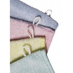 Gant de toilette 360 gr/m² 90% coton 10% polyester