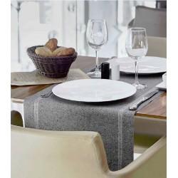 Chemins de table réutilisables anti-tâches (6 rouleaux de 6 unités)