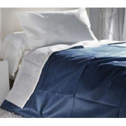 Housse de couette jetable 25 gr/m² bleue marine