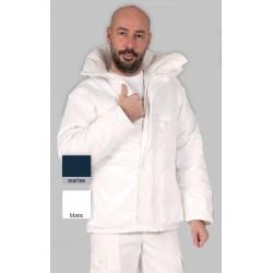 Veste de froid négatif SIBERIE col montant avec capuche amovible