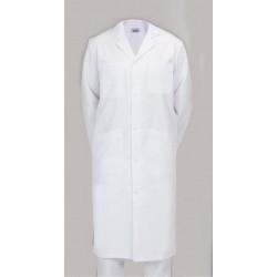 Blouse de médecin PANAMA col tailleur et manches longues