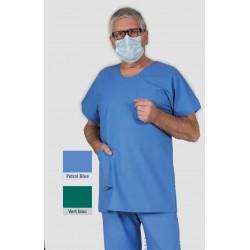 Pantalon de bloc mixte ADEN poly/coton 50/50 ceinture élastiquée