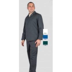 Veste d'atelier TOLEDE 3 poches et fermeture pressions