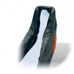 Dispositif d'aide à la posture anti-équin avec décharge talonnière