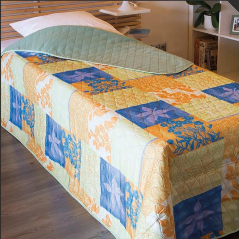 couvre lit malaga imprim 100 polyester polaire non feu 580 gr m colatex. Black Bedroom Furniture Sets. Home Design Ideas