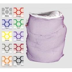 Filet de lavage grandes mailles 100% polyester fermeture Teflon