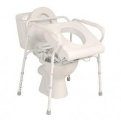 Siège releveur de toilettes hauteur réglable