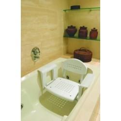 Siège de bain réglable avec ou sans dossier