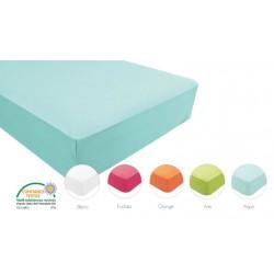 Drap housse enfant poly/coton 50/50 135 gr/m²