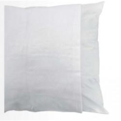 Protège oreiller imperméable en molleton/polyuréthane avec rabat