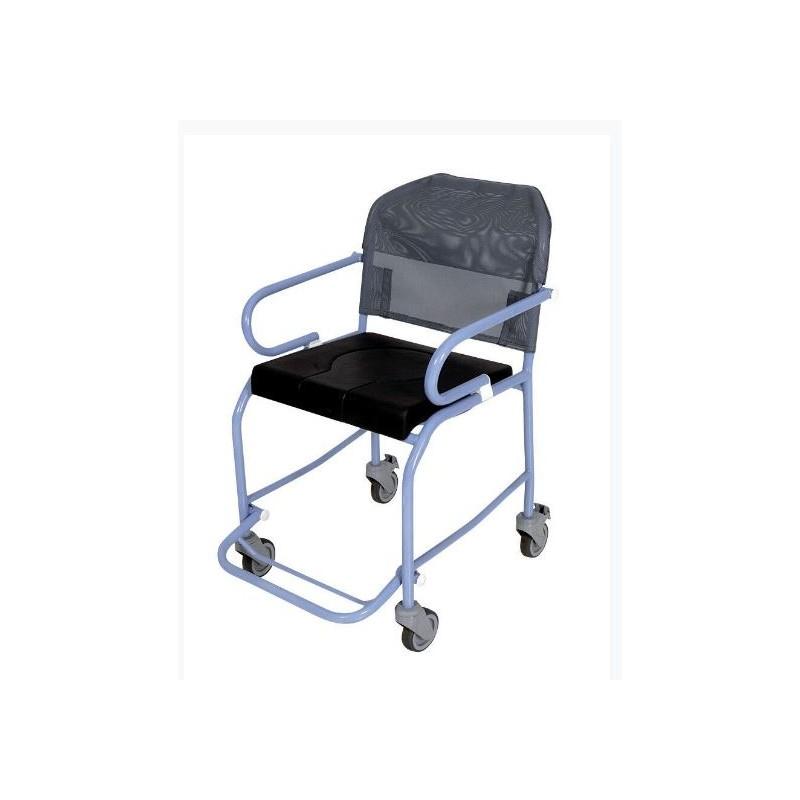 fauteuil de douche 4 roues noumea colatex. Black Bedroom Furniture Sets. Home Design Ideas