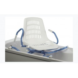 Siège de bain SPIDRA 600 pivotant 360° avec accoudoirs relevables
