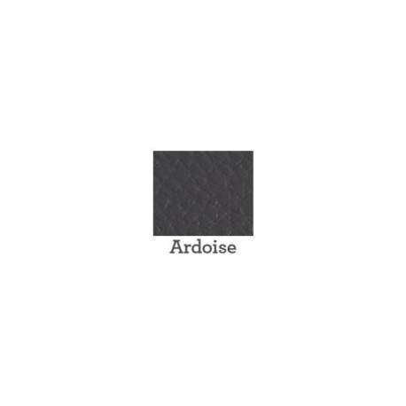 Look cuir Ardoise