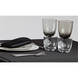 Serviette de table SATEN 100% polyester